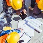 En situationsplan laves forud for projektering af et byggeri